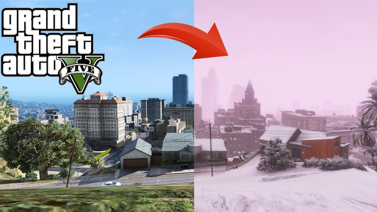 BenzoGaming - Snow in your game without killing PC performance! - GTA 5 Mods