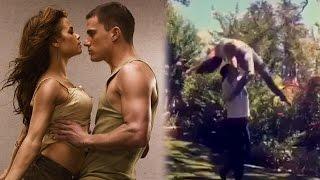 Channing Tatum & Jenna Dewan Recreate Step Up Dance For 10-Year Anniversary