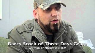 Barry Stock of Three Days Grace Talks About Being Bullied