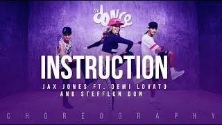 Instruction - Jax Jones ft. Demi Lovato and Stefflon Don | FitDance Life (Choreography) Dance Video