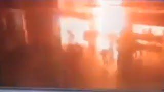 Video de la Explosion en el Aereoupuerto de Estambul