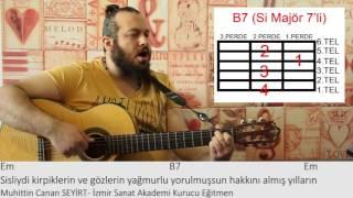Elfida - Gitar Dersi - Serbest Folk Ritmi