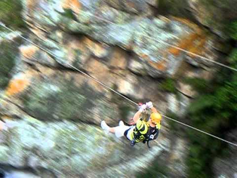 Tsitsikamma Falls Zipline 1
