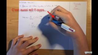 à partir de Gbd(w), calculer Gdb(w0) puis une valeur approchée à l'entier près