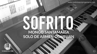 Solo de Sofrito (Mongo Santamaría) piano cover por Mauricio Medina