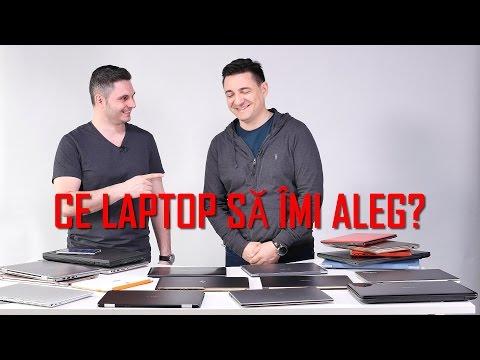 Ce laptop ți se potrivește?