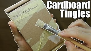Cardboard recorder tingles! (IN/OUT/Sound Effects) ASMR - no talking -