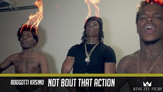 Boogotti Kasino - Not Bout That Action (Dir. by @KingZelFilms) Starring: Rico Recklezz & Go Yayo