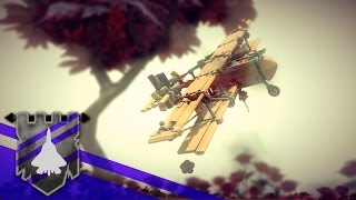 Ils Ne Passeront Pas - Battlefield 1 recreated in BESIEGE v 0.45 | Theater of Flights #64