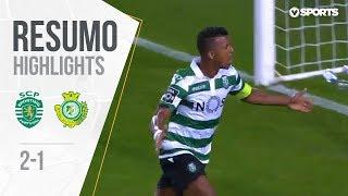Highlights | Resumo: Sporting 2-1 V. Setúbal (Liga 18/19 #2)