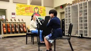 """Brianna's Solo """"Petite Gavotte"""" by Handel"""