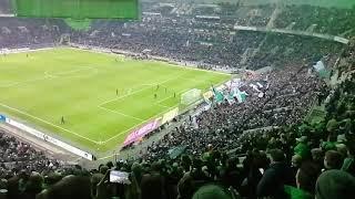Borussia gegen Nürnberg Nordkurve
