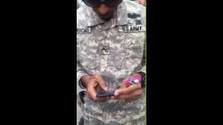 Video - Fake Army Ranger Busted At Staple Center In Los Angeles