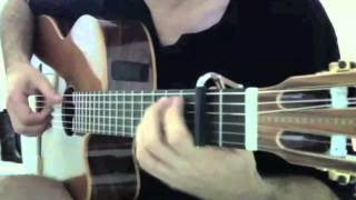 """Conquest of Paradise """" Guitar Solo """" ( COVER )"""