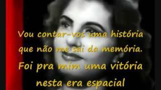 Amália Rodrigues - Senhor Extraterrestre - vídeo com letra