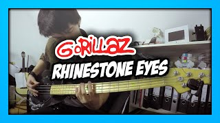 Gorillaz - Rhinestone Eyes | Bass Cover