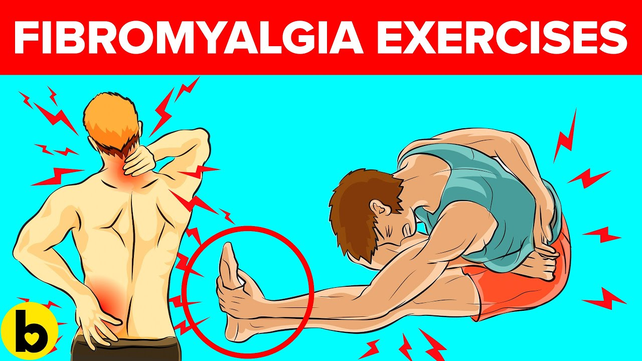 10 Exercises that help with Fibromyalgia