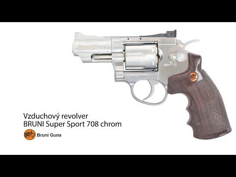 Vzduchový revolver Bruni Super Sport 708