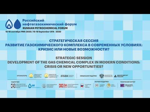 Стратегическая сессия «Развитие газохимического комплекса в современных условиях»