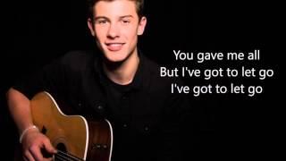 Shawn Mendes - Memories - LYRICS