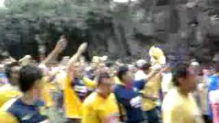 Carnaval saliendo del azteca CUERNATURBIOS