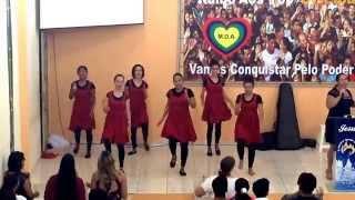 Coreografia O nosso general é Cristo - Louvor em Movimento, Primeira Igreja Batista de Comodoro/MT