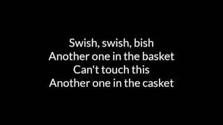 Katy Perry - Swish Swish - Lyrics width=