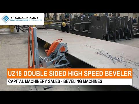 UZ18 Double Sided High Speed Beveler