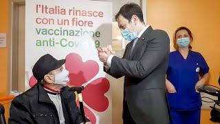 Vaccinazioni Covid over80 in Sicilia - www.canalesicilia.it
