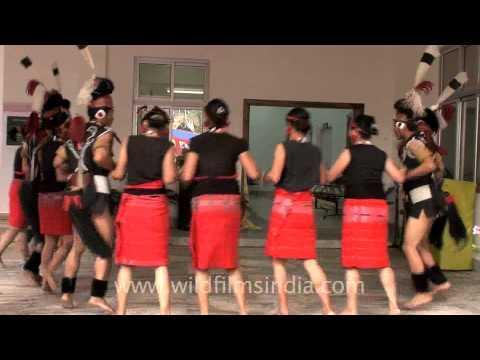 Phom community dance, Nagaland