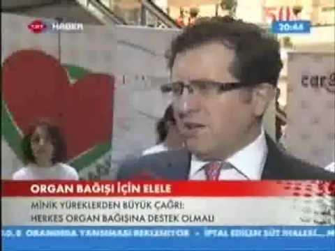 Prof  Dr  Ali İhsan Dokucu TRT Haber Organ Bağışı Etkinliği