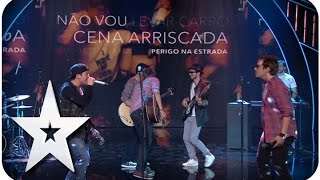 D.A.M.A. - O MAIOR - GALA 06 - GOT TALENT PORTUGAL 2015