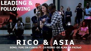 Yuri Da Cunha - De Alma Na Paixao / Rico & Asia Kizomba Dance @ Bachaturo Winter 2017