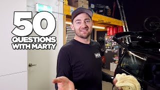 50 Questions with Marty
