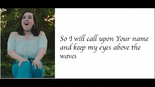 """Oceans"" - Cimorelli (Cover - Lyrics)"