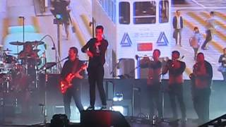 bastille - send them off - live - o2 arena - london - 2/11/2016