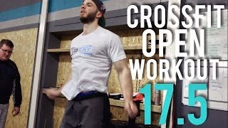 CROSSFIT OPEN WORKOUT 17.5: A LUNG BURNER
