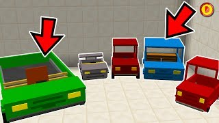 MINECRAFT HOW TO GET CARS (NO MODS) - (Ps3/Xbox360/PS4/XboxOne/WiiU/Switch)