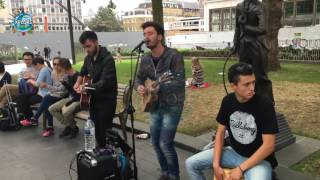 Keane - Everybody's Changing | Best Street Singing Talent | Emotional Crowd