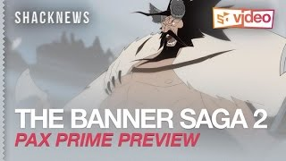 THE BANNER SAGA 2 - new features + gameplay interview with Steve Escalante