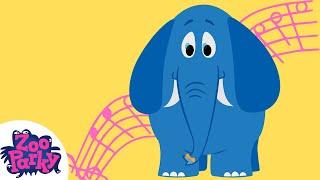 ZooParky - Elefante (Desenho Infantil)