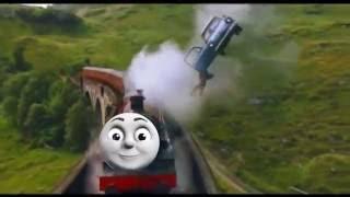 HARRY POTTER TRAIN SCENE (THOMAS THE TANK ENGINE)