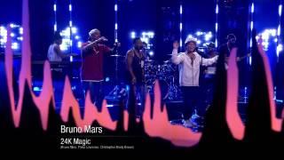 "Bruno Mars ""24K magic"" - Live on Skavlan"