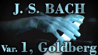 Johann Sebastian BACH: Goldberg Var. No. 1, BWV 988