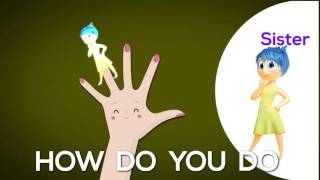 Nursery Rhyme From YOUTUBE INSIDE OUT Finger Family Nursery Rhymes Kids Songs