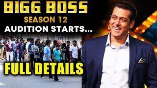 Bigg Boss 12 Audition Begins | NEW TWIST Theme Revealed | Salman Khan