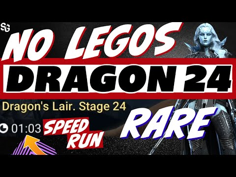 Dragon 24 NO LEGO 1min flat FROZEN BANSHEE | Raid Shadow Legends speed runs