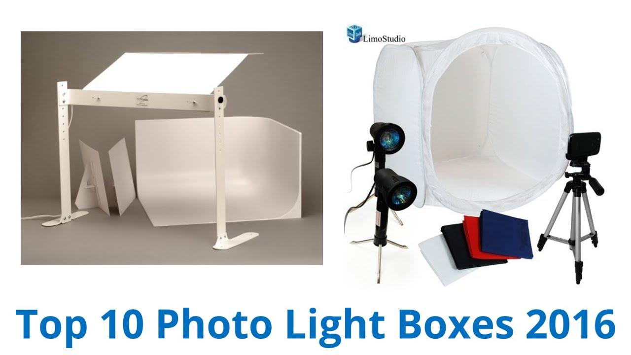10 Best Photo Light Boxes 2016