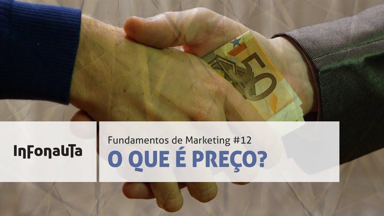 Capa da aula O Composto de Marketing - Preço