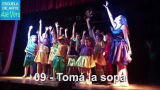 09 - TOMA LA SOPA - La Familia Fernandes 2016 - Escuela de Arte Ale Vera